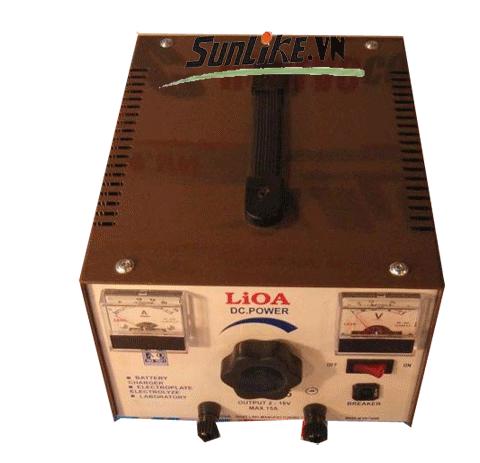 Nạp ắc quy lioa tự động 6V - 12V - 24V - 36V - 48V - 100AH